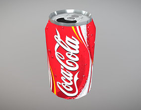 Coca Cola Can 3D asset