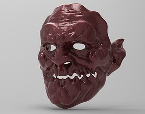 STL MASK - Demon 3D printable model