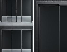 Rimadesio Velaria Sliding Doors 3D model