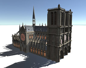European Buildings 3D asset
