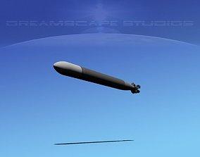 3D asset Mark 12 Torpedo
