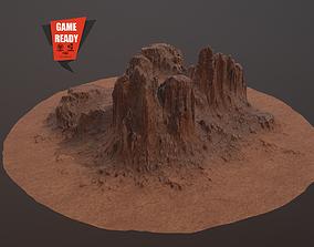 CANYON ROCK PBR Low-Poly 3D asset
