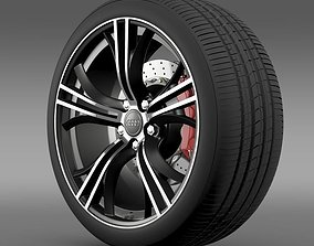 3D Audi R8 Exclusive wheel