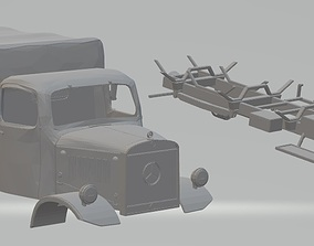 Mercedes Benz L3000 Printable Truck