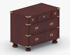 3D asset 0331 - Dresser