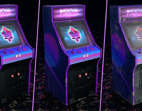 Retro Arcade Machine Copyright Free 3D asset