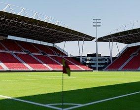 Stadion Galgenwaard - Utrecht 3D model