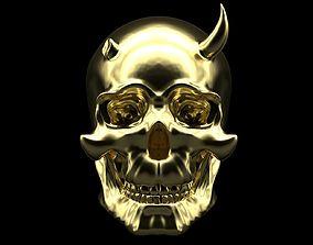 3D printable model Oni Skull