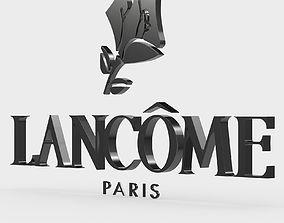 symbol lancome logo 3D model