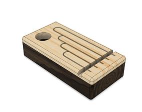 Wood Music Box 3D printable model