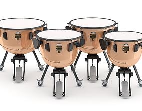 3D Yamaha Percussion Timpani TP-3300 Series