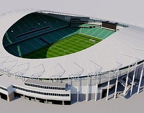 3D model Allianz Stadium - Sydney Football Stadium