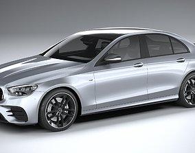 Mercedes E53 AMG Sedan 2021 3D model
