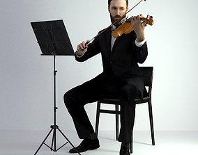 orchestra 3D Scan Man Musician 030