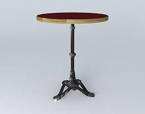 BISTRO TABLE RONDE ARDAMEZ Company 3D model