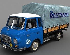 truck Barkas B1000 1961 3D model