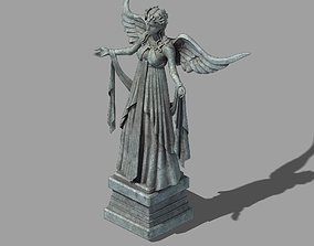 Stone Rainbow City Sculpture 01 3D model