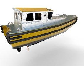 pilot boat 3D model realtime
