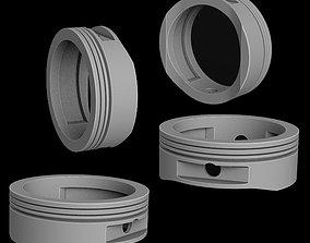 3D print model Ring piston