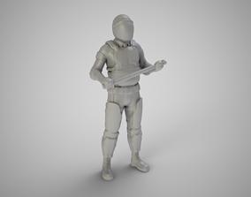 Riot Cop 3D print model