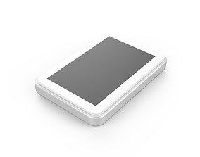 3D printable model Pad display design white