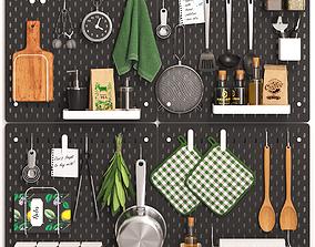 3D SKADIS kitchen set