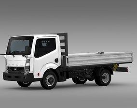3D Mitsubishi Fuso Canter Guts Tipper 2015