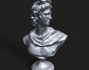 Apollo Belvedere bust 3D printable model