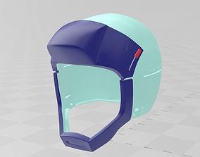 3D printable model Zeta Gundam Pilot helmet Cosplay