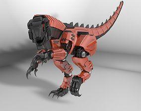 3D Dinozavr Raptor