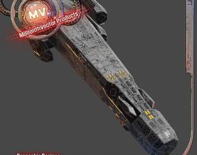 Heavy Spaceship 3D model