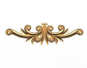 3D asset Carving Plaster Molding Decoration Z
