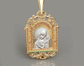 3D print model Orthodox pendant