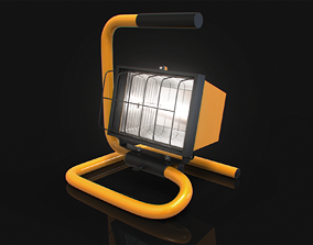 3D Small Halogen Work Light