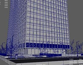 3D model street Chicago