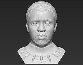 Chad Boseman Black Panther bust 3D printing ready stl