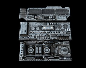 Spacecraft Sheathing and Structure Part II kitbash 3D