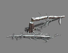 3D model Ice and Snow - Cedar 04
