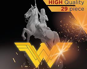 3D print model Wonder Woman Diana World War I