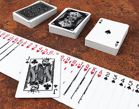 3D asset Playing Cards GRIMOIRE - Poker Card Set 5 - 1