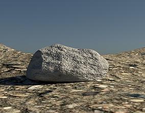 3D asset Rock simple