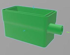 3D print model condensate drain