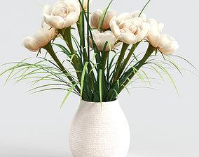 grass 3D model Bouquet