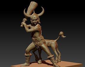 3D printable model Bobby and the Unicorn - Pose 2