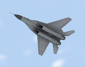 3D model Mig-29 Fulcrum Russian