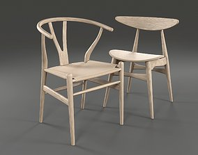3D model Carl Hansen and Son Chairs
