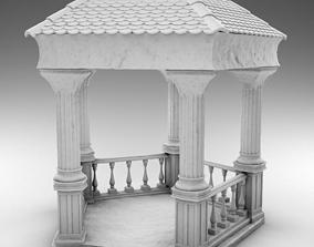 Greek gazebo 3D printable model