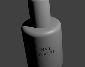 3D print model Nail Polish Key Holder