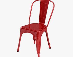 plastic 3D model Tolix A Chair