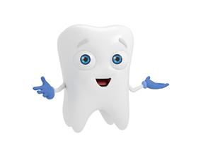 3D asset Cartoon Tooth Dentist